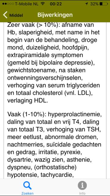 cholesterol bijwerkingen